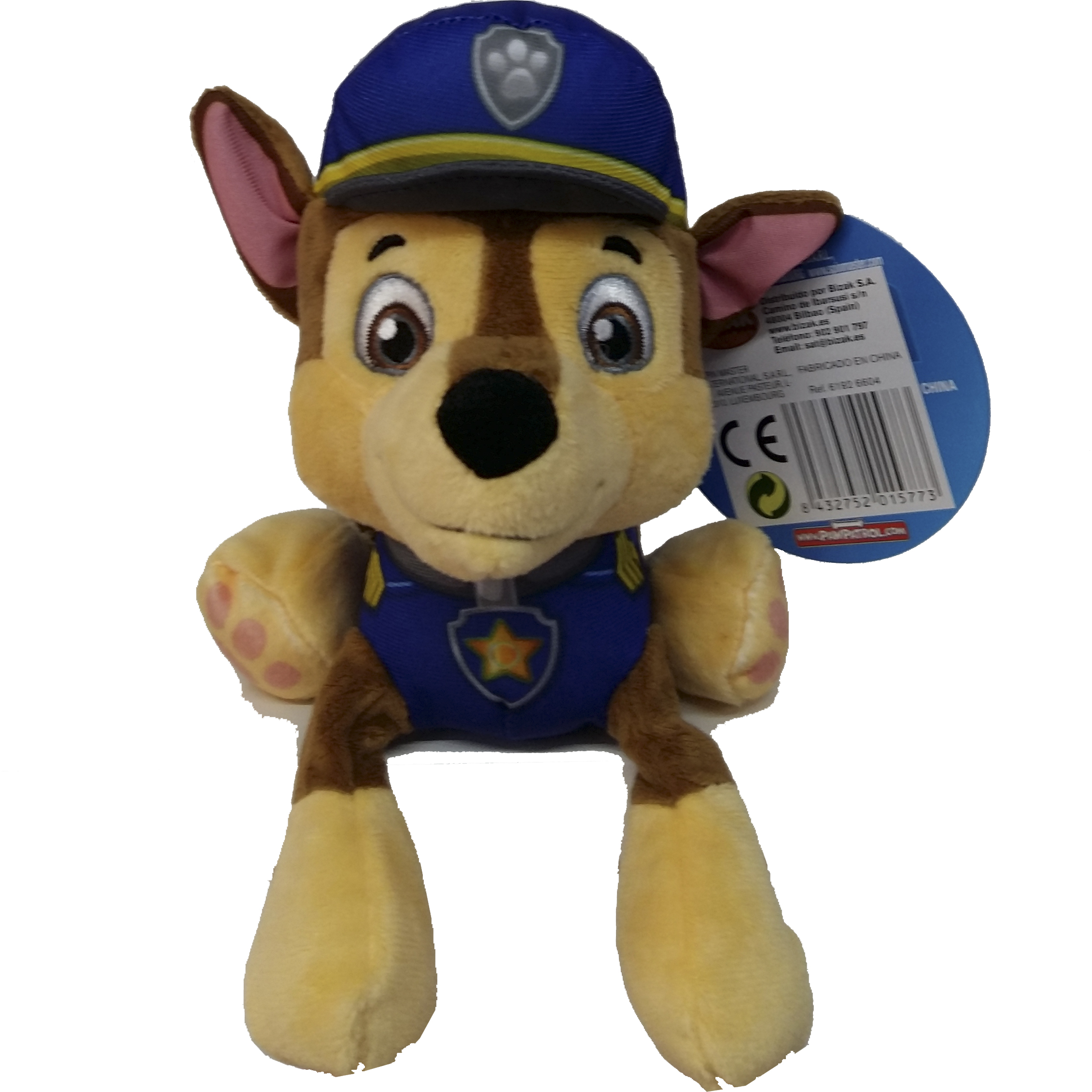 imagen chase patrulla canina peluche