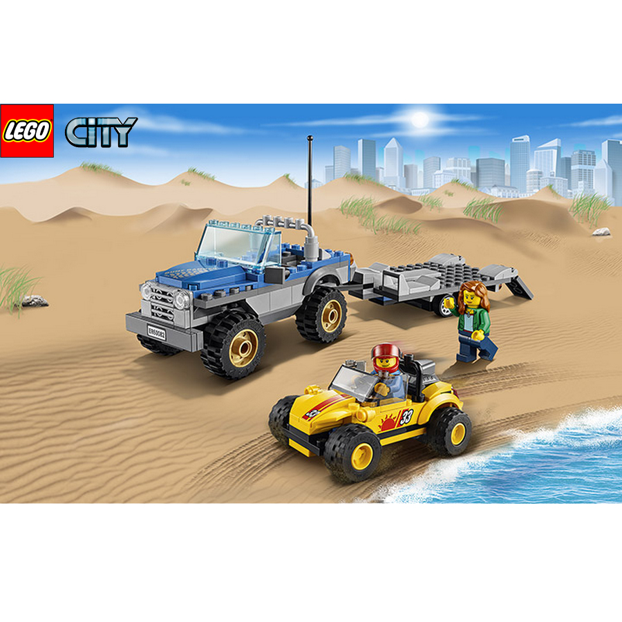 Lego City Buggy Arenas 60082