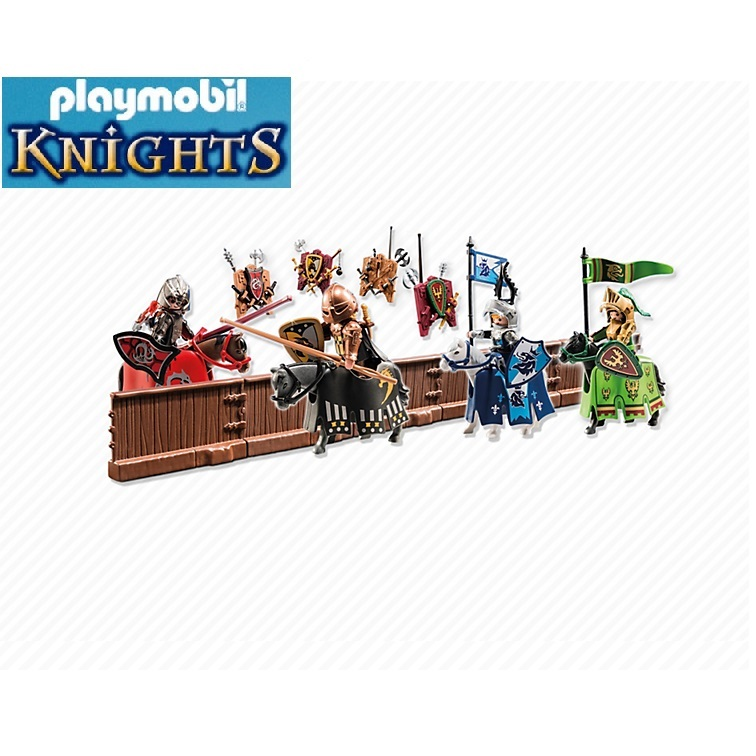 torneo caballeros playmobil knights