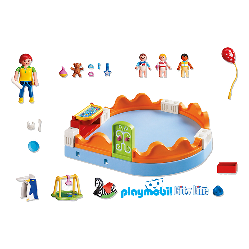 Playmobil City Life Zona Beb