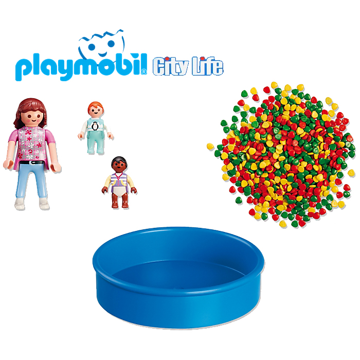 Playmobil Madre Piscina Bolas 5572