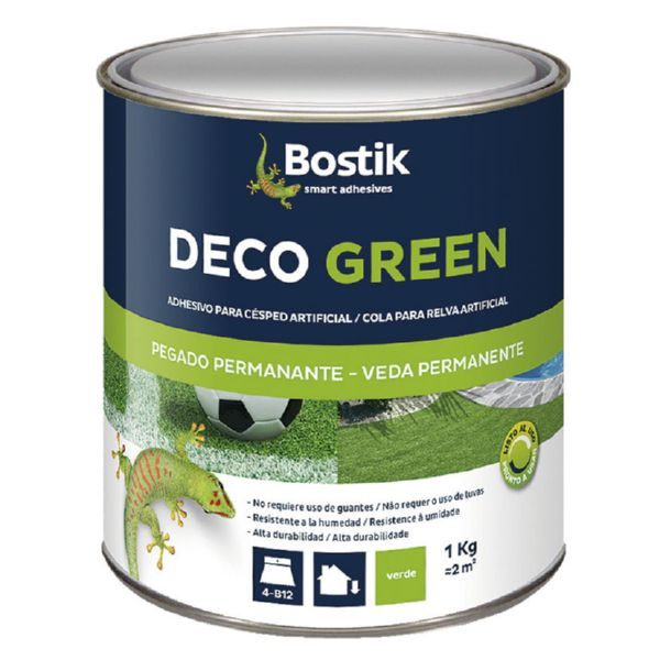 ADHESIVO DECO GREEN CÉSPED. 1 KG. VERDE