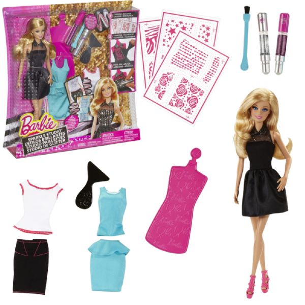 BARBIE PURPURINA FASHION STUDIO
