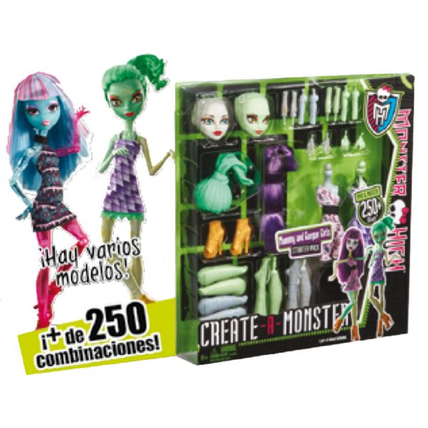 CREA Y FABRICA TU MONSTER HIGH MATTEL