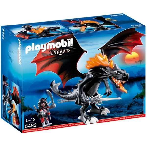 DRAGON GIGANTE FUEGO LED PLAYMOBIL 5482 de 5 a 12 años