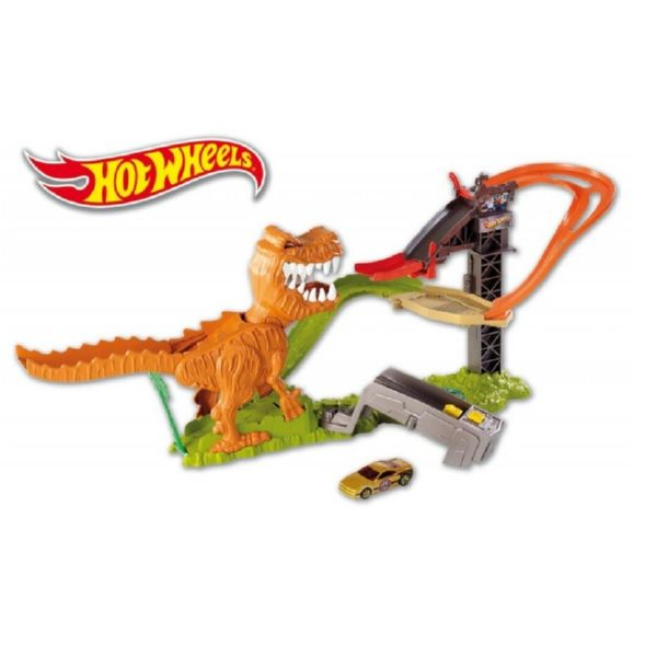 HOT WHEELS ATAQUE T-REX PISTA ACROBATICA