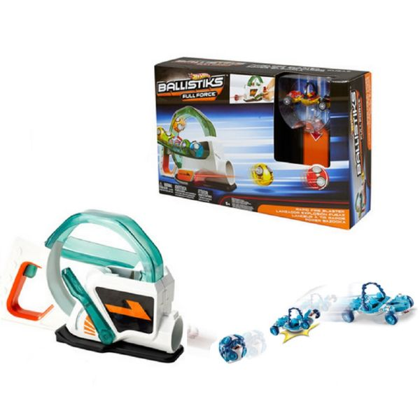 HOT WHEELS BALLISTIKS RAPID FIRE BLASTER FULL FORCE