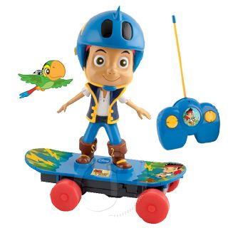 JAKE PIRATES SKATEBOARD DISNEY R/C RADIO CONTROL