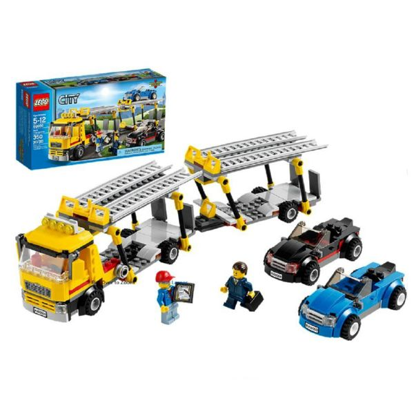 LEGO CITY CAMION TRANSPORTE COCHES DOBLE PISO 60060