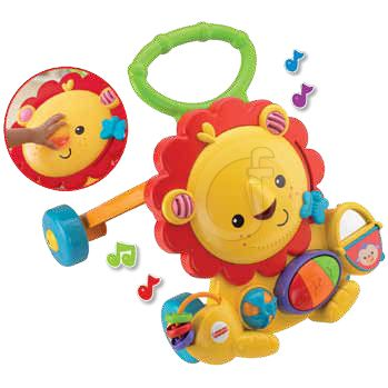 LEON ANDADOR MUSICAL FISHER-PRICE