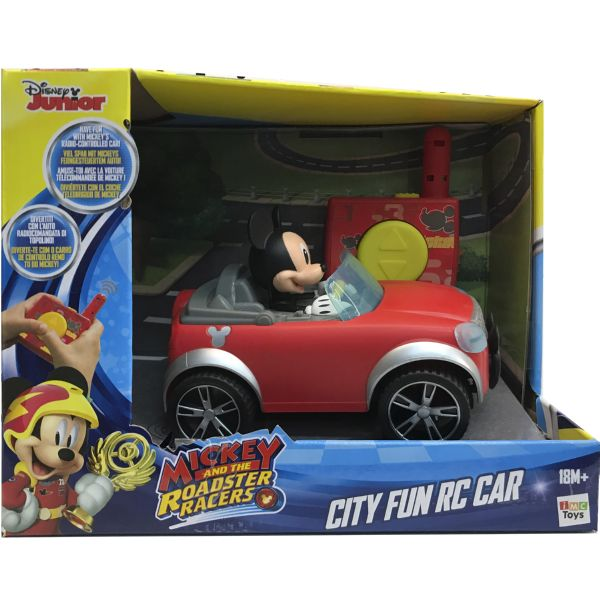 MICKEY CITY FUN RC CAR EL COCHE RADIO CONTROL DE MICKEY MOUSE DISNEY JUNIOR IMC