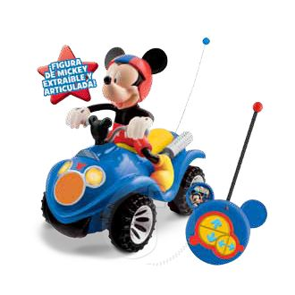 MICKEY MOUSE MOTO QUAD RC CLUB HOUSE RADIO CONTROL
