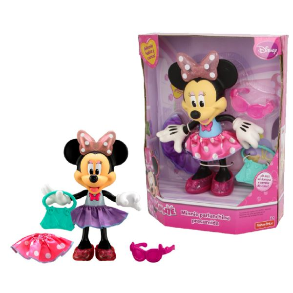 MINNIE PARLANCHINA PRESUMIDA