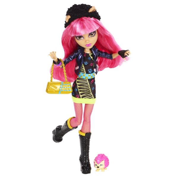 MONSTER HIGH HOWLEEN WOLF 13 MONSTRUO DESEOS BASICO