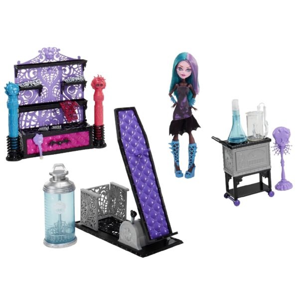 MONSTER HIGH LABORATORIO DISEÑA Y COLOREA TU MONSTRUO