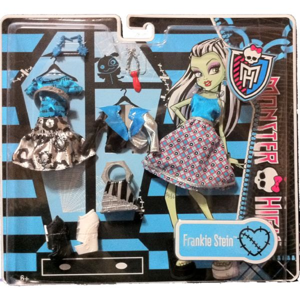 MONSTER HIGH MODA FASHION DELUXE VESTIDO FRANKIE STEIN