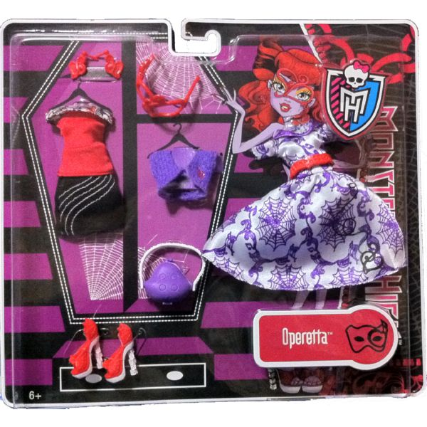 MONSTER HIGH MODA FASHION DELUXE VESTIDO OPERETTA