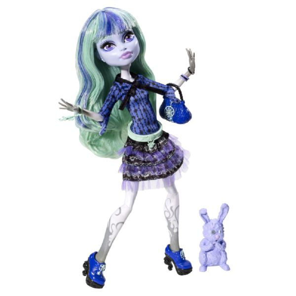 MONSTER HIGH TWYLA 13 MONSTRUO DESEOS BASICO