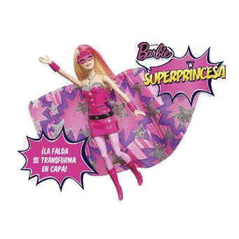 MUÑECA BARBIE SUPERPRINCESA 2 EN 1