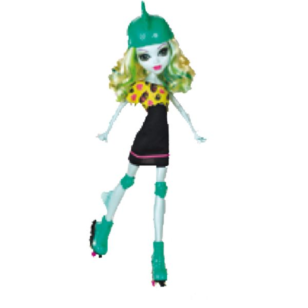 MUÑECA MONSTER HIGH PATINADORA LAGOONA BLUE