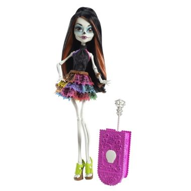 MUÑECA MONSTER HIGH SCARIS SKELITA CALAVERAS