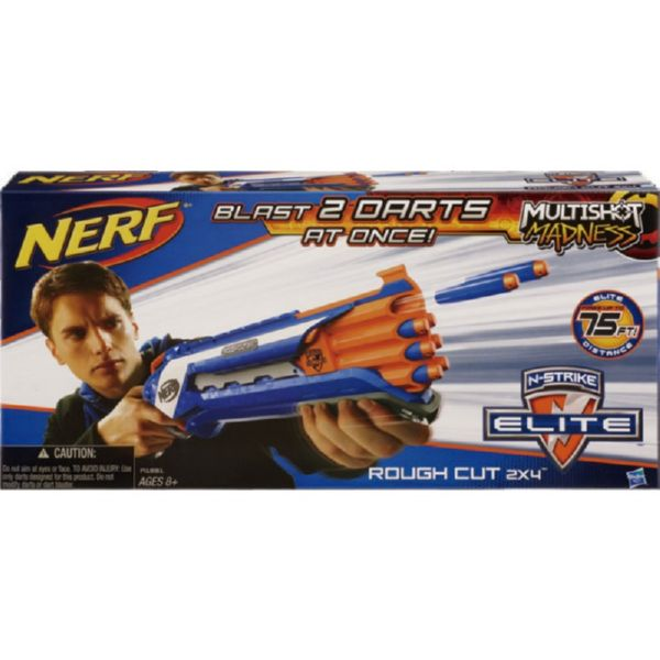 NERF ELITE N-STRIKE ROUGH CUT 2X4 20m ELITE