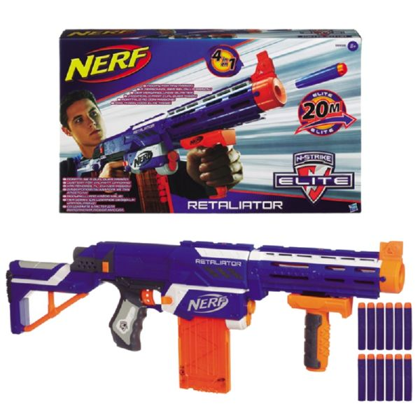 NERF N-STRIKE ELITE 20M RETAILATOR