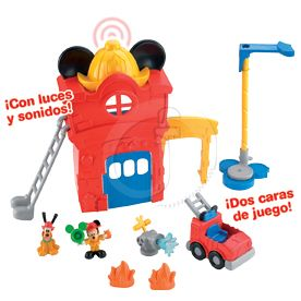 PARQUE DE BOMBEROS MICKEY MOUSE CLUB-HOUSE FISHER-PRICE