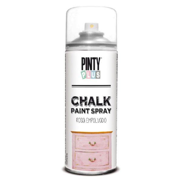 PINTURA SPRAY CHALK EFECTO TIZA GRI