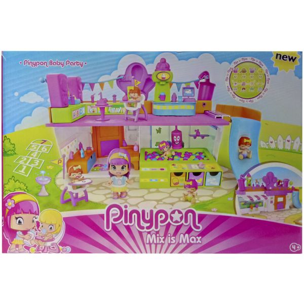 PINYPON BABY PARTY MIX IS MAX LA FIESTA INFANTIL DE PIN Y PON