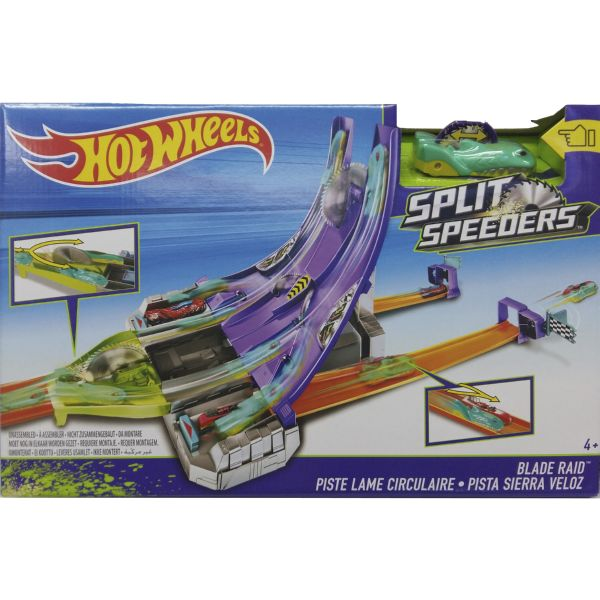 PISTA SIERRA VELOZ NOVEDAD 2016 HOT WHEELS SPLIT SPEEDERS