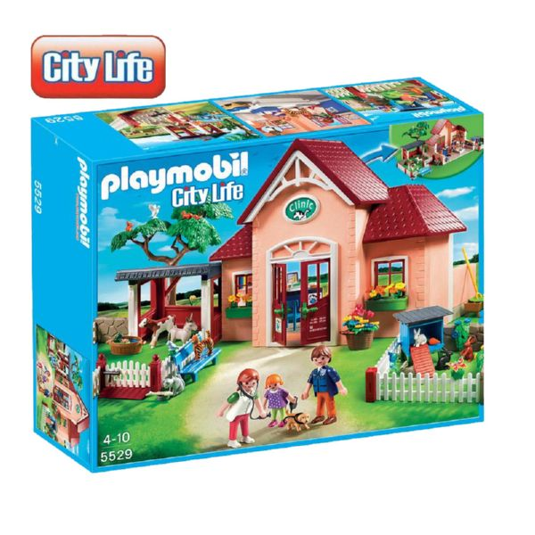 PLAYMOBIL CITY LIFE CLÍNICA VETERINARIA CLINIC 5529