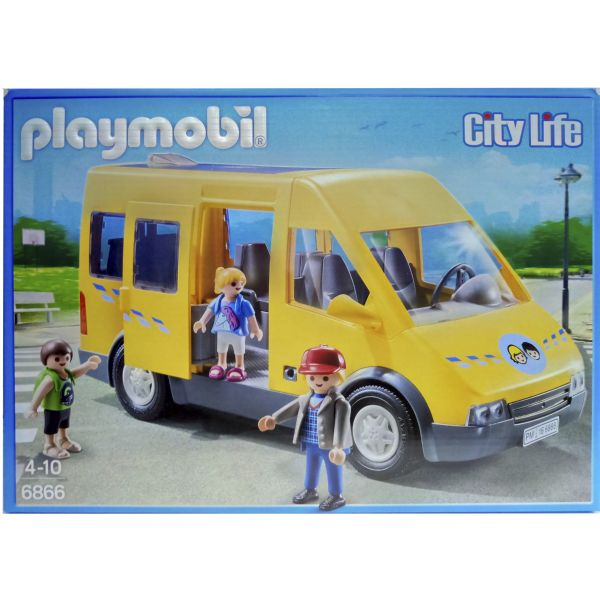 PLAYMOBIL CITY LIFE EL AUTOBÚS ESCOLAR DE PLAYMOBIL 6866