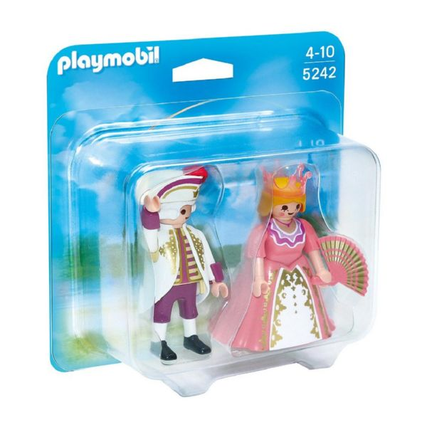 PLAYMOBIL DUO PACK DUQUE Y DUQUESA 5242