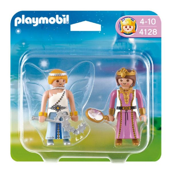 PLAYMOBIL DUO PACK PRINCESA Y HADA 4128