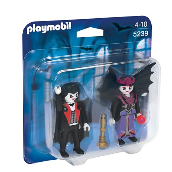 PLAYMOBIL DUO PACK VAMPIROS 5239 DRAGONS de 4 a 10 años