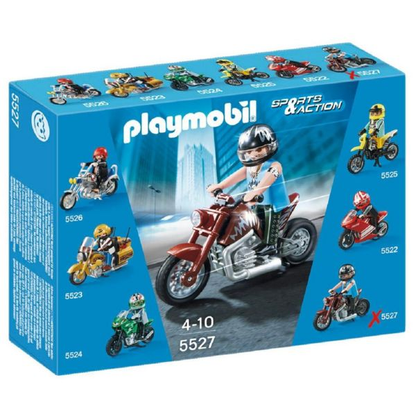 PLAYMOBIL MOTO CUSTOM SPORTS AND ACTION 5527