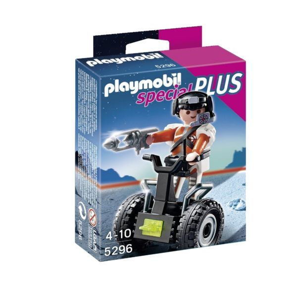 PLAYMOBIL SPECIAL PLUS AGENTE SECRETO BALANCE RACE 5296
