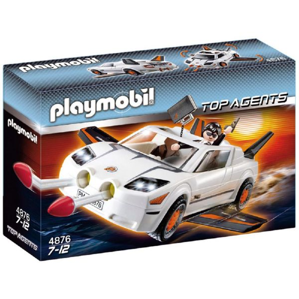 PLAYMOBIL SUPER VEHICULO TOP AGENTS 4876