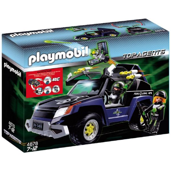 PLAYMOBIL TODOTERRENO TOP AGENTS 4878