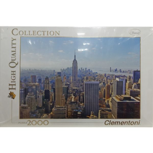 PUZZLE 2000 CIUDAD DE NEW YORK CLEMENTONI HIGH QUALITY COLLECTION