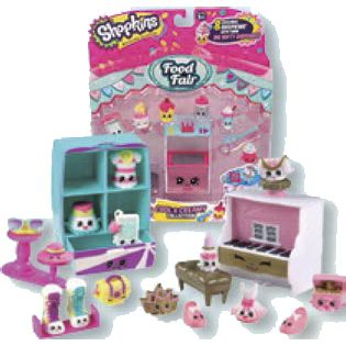 SHOPKINS S3-BLISTER 8 FIG+ACC