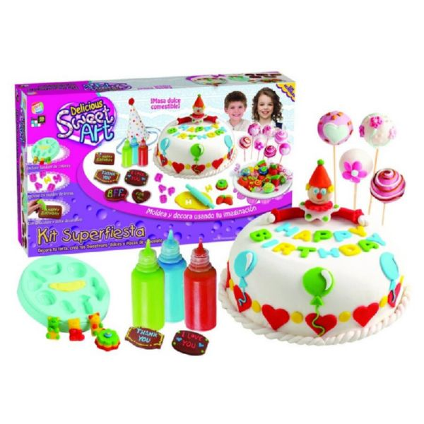 SWEET ART SUPER KIT FIESTA CREACIÓN DECORACIÓN PASTELES CEFA
