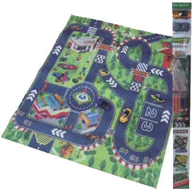 TAPIZ 80X70 CITY CON 2 COCHES DREAM MAT