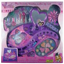 TOCADOR MAQUILLAJE CON MULTIPLES ACCESORIOS My beauty Vanity make up set