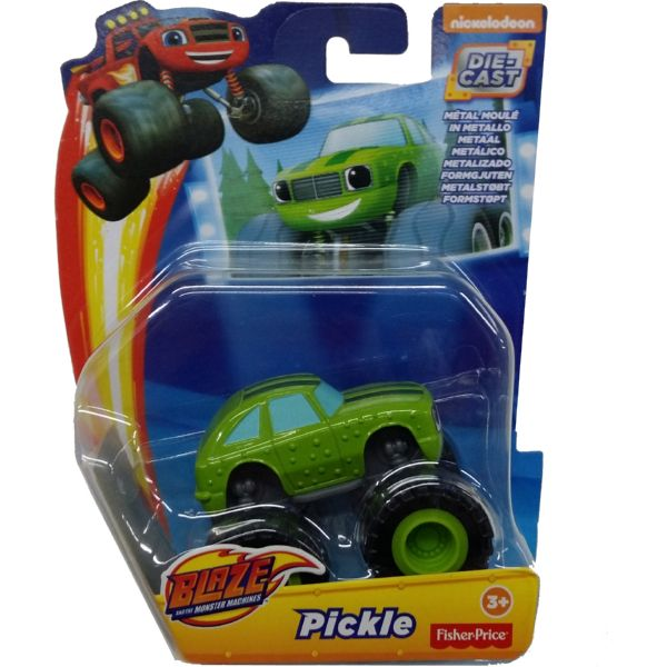 VEHÍCULO JUGUETE PICKLE METAL DGF23 MONSTER MACHINES BLAZE DE NICKELODEON