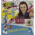 JUGUETE IDO 3D VERTICAL COLOUR WORLD PACK 4 BOLIGRAFOS 3D CON 20 POSIBLES PROYECTOS