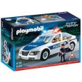 PLAYMOBIL 5184 CITY ACTION COCHE DE POLICÍA CON LUCES