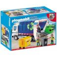 PLAYMOBIL CAMIÓN DE RECICLAJE CON LUCES PLAYMOBIL CITY ACTION 4129