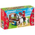 PLAYMOBIL COUNTRY CABALLO ANDALUZ CON ESTABLO JOY 5521